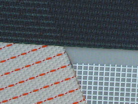 Examples synthetic woven mesh