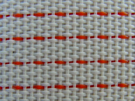 closed synthetic woven mesh