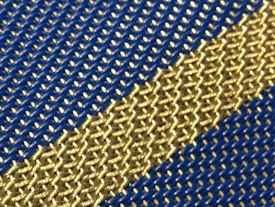 Hybride mesh (brass / insulated wires)