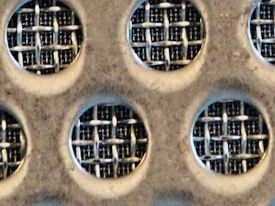 Sintered mesh (incl. support perforated plate)
